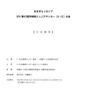大会要項 2020おきぎんJカップ県大会 1/30.31.2/6.20