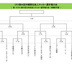県社会人選手権 決勝 6/20開催