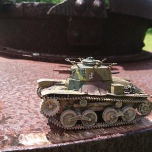 四式軽戦車 完成