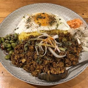 本日のLunch(2020/10/22)Dish curry&relish ディッシュカリー&レリッシュ