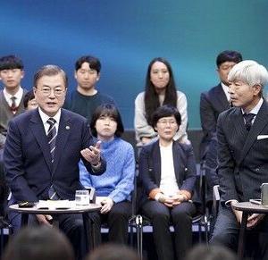 【GSOMIA】失効回避へ努力 韓国大統領、生放送に出演 「最後の瞬間まで日本と共に努力する」