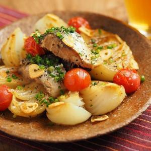 新玉ねぎとサバ缶の焼きサラダ、佐賀新聞FitECRUにレシピ掲載されました。