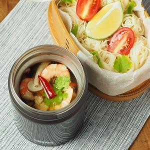 トムヤンクン風のスープそうめん、サーモススープジャーを使ったそうめんレシピ