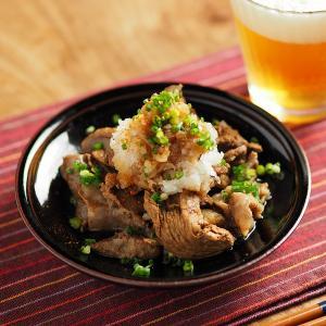 牛すじぽん酢、圧力鍋で簡単調理