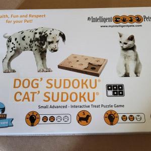 猫&犬用SUDOKUチャレンジ
