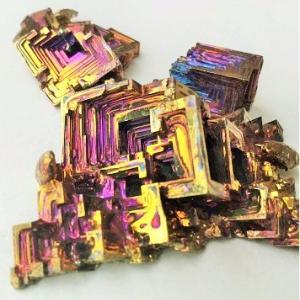 骸晶~不思議で美しい,ビスマスの結晶。