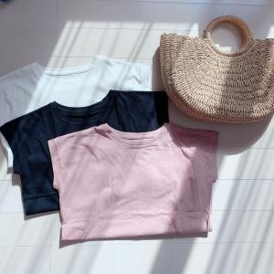 1000円以下のTシャツ3色買い♡楽天人気マスク!