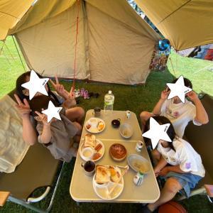 4連休キャンプ♡