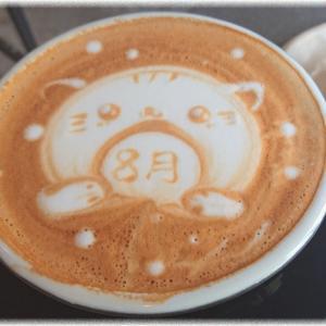 台東区松が谷『Up to you coffee』のラテアートがやっぱり凄い。