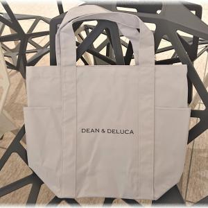 DEAN & DELUCA「数量限定 マーケットトートバッグ」を店頭で発見。