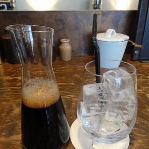 アトリエモリヒコの水出し珈琲、美味!