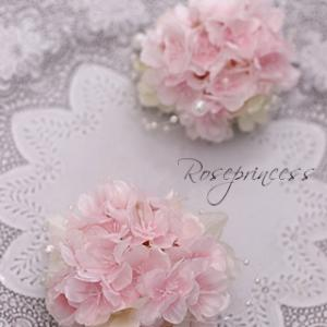 ●桜コサージュ