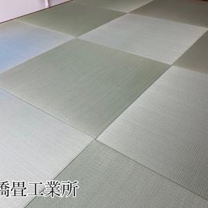 京都市左京区のリフォーム現場へ縁無し畳を配達して来ました。