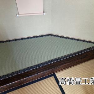 東大阪市吉田のお客様。茶道教室 床の間。