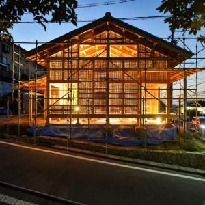 名古屋の石場建て10 建方