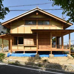 名古屋の石場建て 竣工