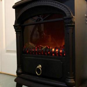 暖炉に憧れて。