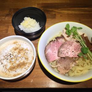 らー麺や 与う【カプチーノつけ麺】@京都 東寺駅 1.11.10