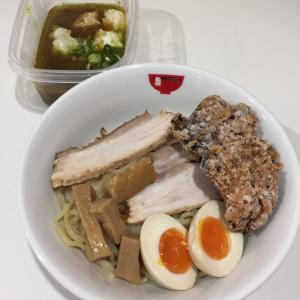 ラーメン モリン【モツカレーつけ麺】@滋賀 大津駅前 2.11.24