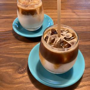 MARKET Espresso & Vegetables【アイスカフェラテ】@滋賀 県庁横