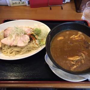 桃李路【近江牛肉カレーつけ麺】@滋賀 唐橋 1.7.6