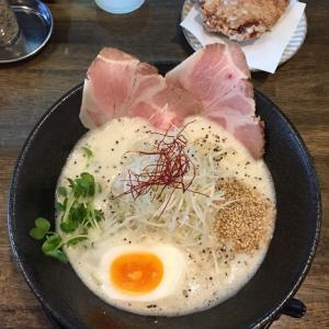 フカクサ製麺所【おさかな鶏白湯】@京都 伏見 1.7.9
