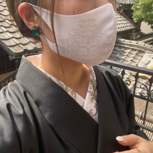 ◆夏マスク×着物◆