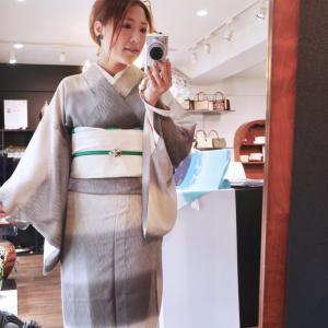 ◆今日は紋紗のキモノ◆