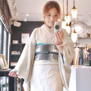 ◆今日は紋紗の着物◆