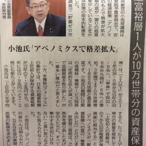 日本の超富裕層1人が10万世帯分保有