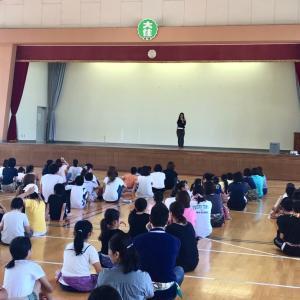 小学校でベリーダンス♪
