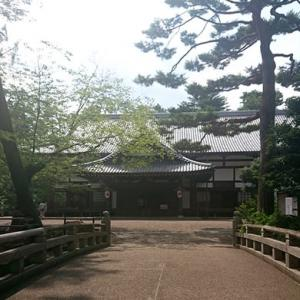 亀山城跡を見学してきました。