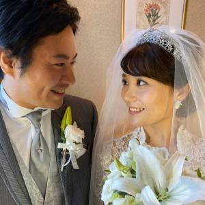 【ブライダルエステ】10月13日 結婚式のS様ご夫妻