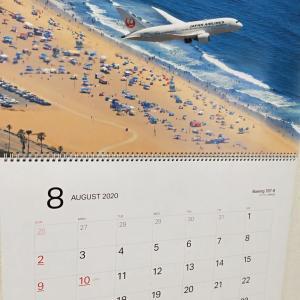 JALのカレンダーとアメリカ