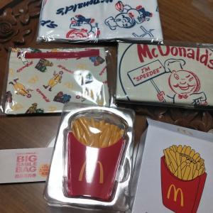 マクドナルドの50周年グッズ