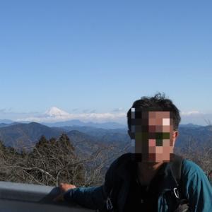 2020年初登り 粟ヶ岳