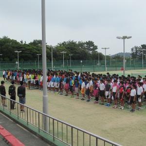 中体連夏季団体戦予選リーグ