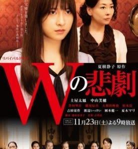 NHKBSプレミアム『Wの悲劇』(11/23)
