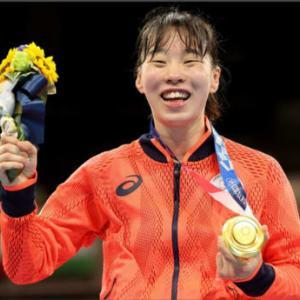 ボクシング女子金メダル・・・