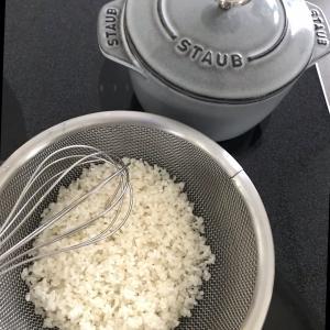 ボールとザルと美味しいお米♡
