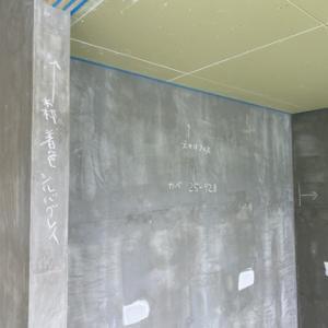 内部の塗装