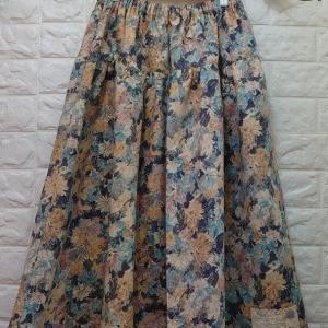 【オーダー品】YUWAさん花柄のスカート