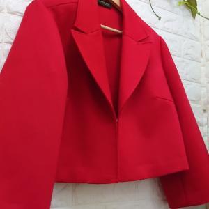 【オーダー品】オートクチュール**✫赤いジャケット♡