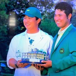 松山英樹選手 おめでとうー!