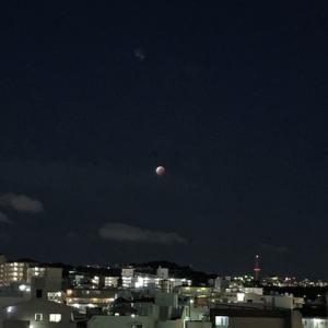 スーパームーン&皆既月食