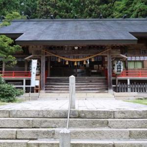 滝と急登の静かな信仰の山、信濃富士有明山(2019年8月24日山行記録(番外編))