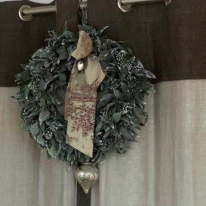 クリスマスレッスンご案内④〜アイビーのクリスマスリース〜