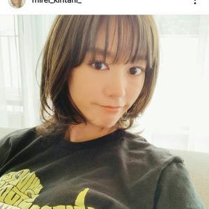 【芸能】第1子妊娠の#桐谷美玲、前髪復活の新ヘアスタイル披露し反響「本物の美人」「お腹ふっくらしてきましたね」