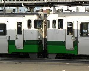 懐かしいかな キハ40 会津若松駅