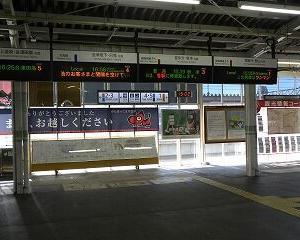 今日の会津若松駅 E721系・キハE120系・GV-E400系